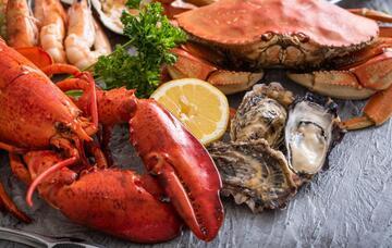 Seafood - доставка морепродуктов, морских деликатесов и рыбы в Обнинске, Москве: Морепродукты