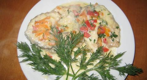 Seafood - доставка морепродуктов, морских деликатесов и рыбы в Обнинске, Москве: Рецепт: рыба в сливочно-укропном соусе