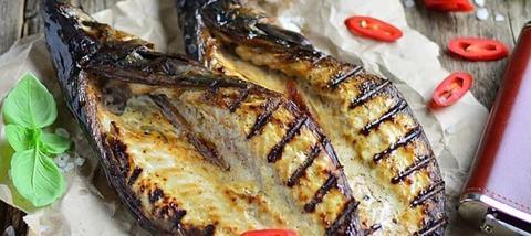 Seafood Обнинск: Рецепт: бескостная хрустящая рыба на углях