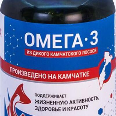 Seafood - доставка морепродуктов, морских деликатесов и рыбы в Обнинске, Москве: БАД «Омега-3» из дикого Камчатского лосося (600мг)
