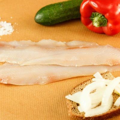 Seafood - доставка морепродуктов, морских деликатесов и рыбы в Обнинске, Москве: Омуль филе слабосолёный в/у